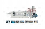 Hydraulic single spindle veneer peeling machinery